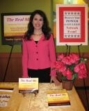 Sandra at the Discover Your Power to Succeed Network Event 7-28-12 at Biggby Coffee in Utica.JPG